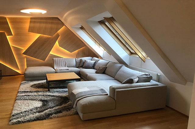 Wohnzimmer-RenovierungWohnung 1150 Wien